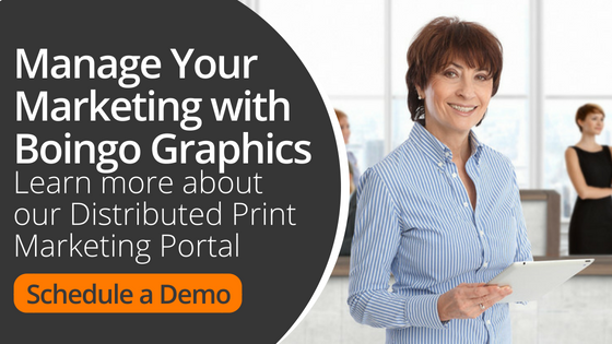 Distributed Print Marketing Portal